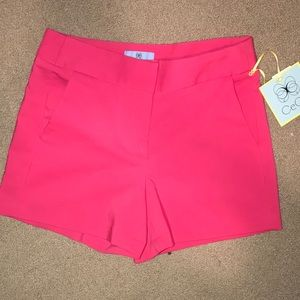 pink CeCe shorts